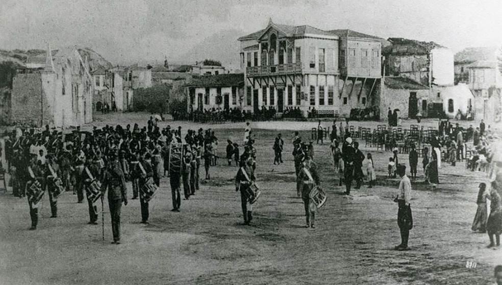 Η Πλατεία Ελευθερίας το 1908 - Μοναδικό ντοκουμέντο για την Κρήτη