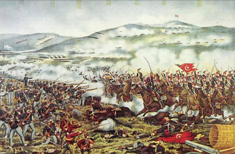 H μάχη του Βελεστίνου εναντίον των Τούρκων και το...άστρο του Ταξίαρχου Κωνσταντίνου Σμολένσκη (pics+vids)
