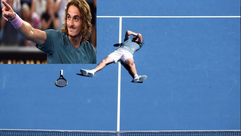 Θρίαμβος για τον Στέφανο Τσιτσιπά - Πέρασε στα ημιτελικά του Australian Open