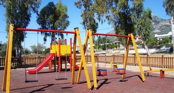 Εγκαινιάζεται η παιδική χαρά στη Νέα Αλικαρνασσό