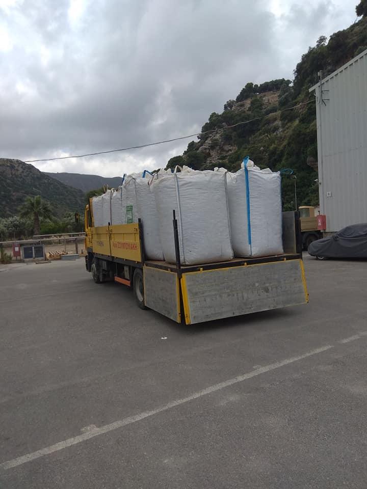 Συγκέντρωσαν και παρέδωσαν σε εργοστάσιο ανακύκλωσης 5 τόνους καπάκια!!!