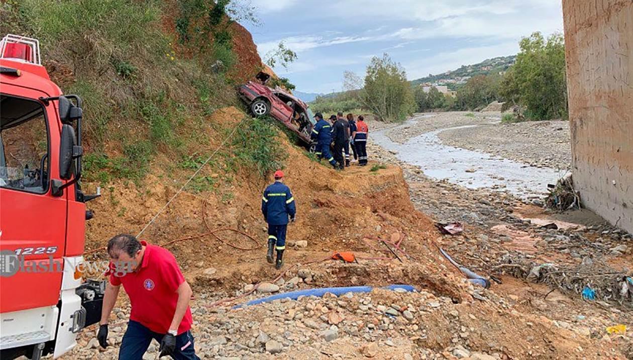 Αυτοκίνητο έπεσε σε γκρεμό στα Χανιά – Νεκρός ο οδηγός
