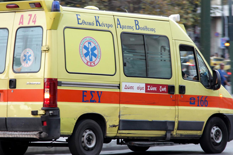 Τροχαίο με τραυματίες στην παλιά εθνική μετά τις Γούβες