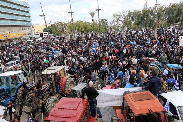 Αποτέλεσμα εικόνας για συλλαλητηριο αγροτων