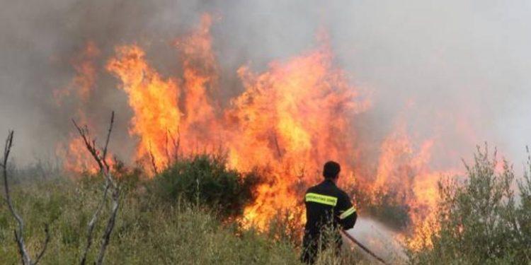 Συναγερμός σε στρατόπεδο της Κρήτης…λόγω φωτιάς