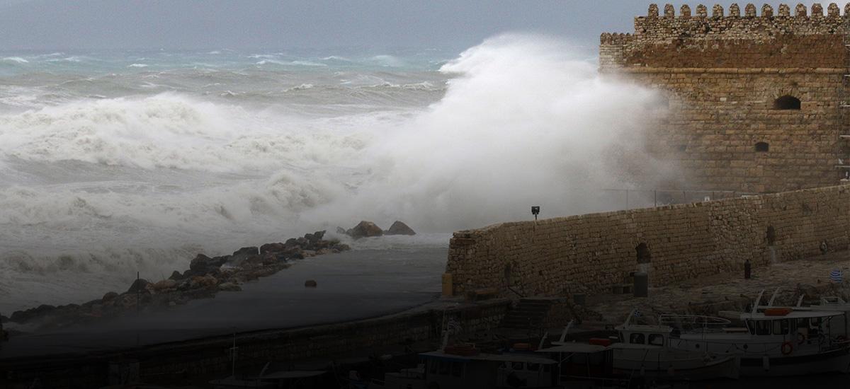 Λέκκας: 24 ώρες θα διαρκέσουν τα έντονα φαινόμενα στην Κρήτη