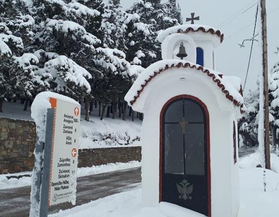 """Κρήτη: Γιατί οι Ανωγειανοί βάφτισαν τον χιονιά... """"Σκανταλαθήνα"""""""