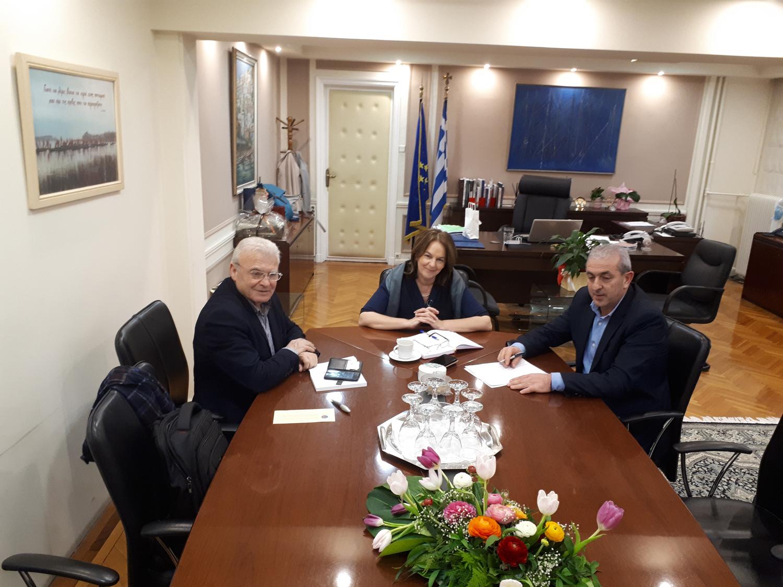 Συνάντηση με την Υφυπουργό Οικονομικών