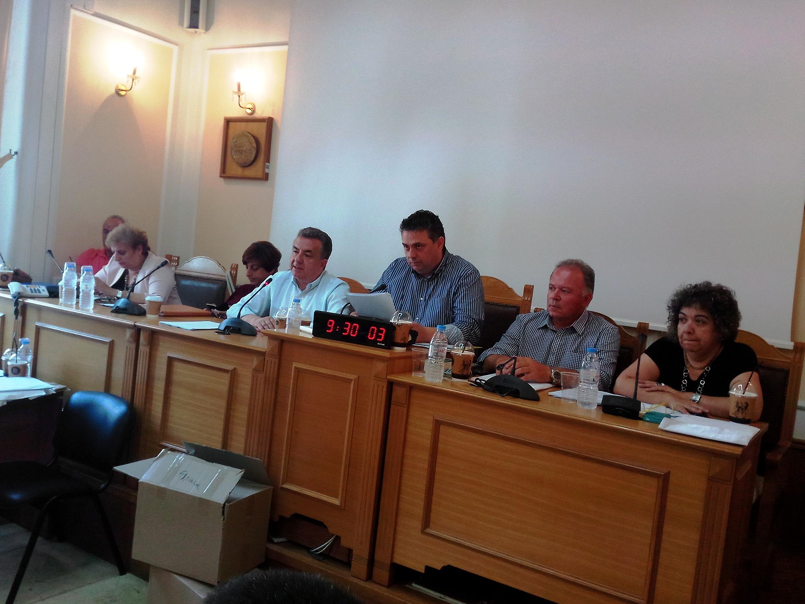 Το θέμα του ΒΟΑΚ στην έναρξη της σημερινής συνεδρίασης του Περιφερειακού Συμβουλίου
