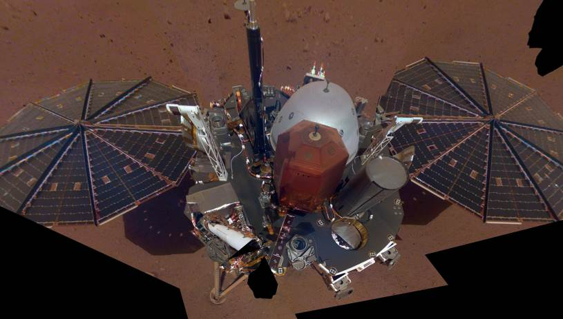 NASA: Η πρώτη... σέλφι του Insight από τον πλανήτη Άρη