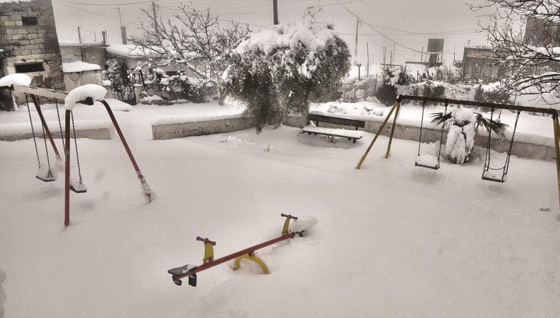 Χιόνια σε χαμηλό υψόμετρο, καταιγίδες και κρύο - Που υπήρξαν προβλήματα