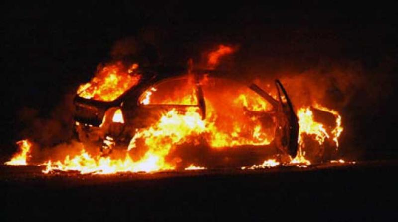 Αναστάτωση προκάλεσε η φωτιά σε αυτοκίνητο στο Γάζι