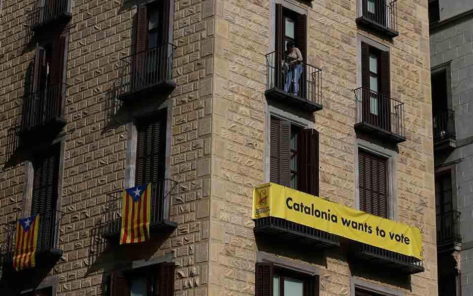 Εκπρόσωπος Καταλωνίας:  «Δεν εγκαταλείπουμε τον αγώνα για την ανεξαρτησία»