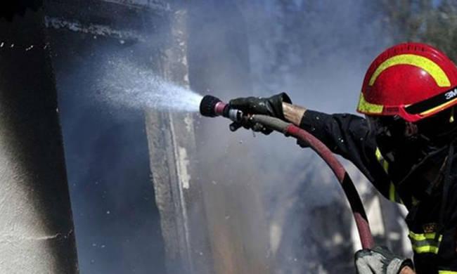 Έσβησε η φωτιά στον καταυλισμό των Ρομά στην Ν. Αλικαρνασσό