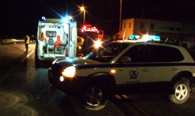 Φορτηγό  συγκρούστηκε με ΙΧ στη Λεωφόρο 62 Μαρτύρων
