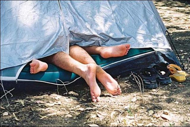 Πέντε συμβουλές για καλό σεξ στο camping!