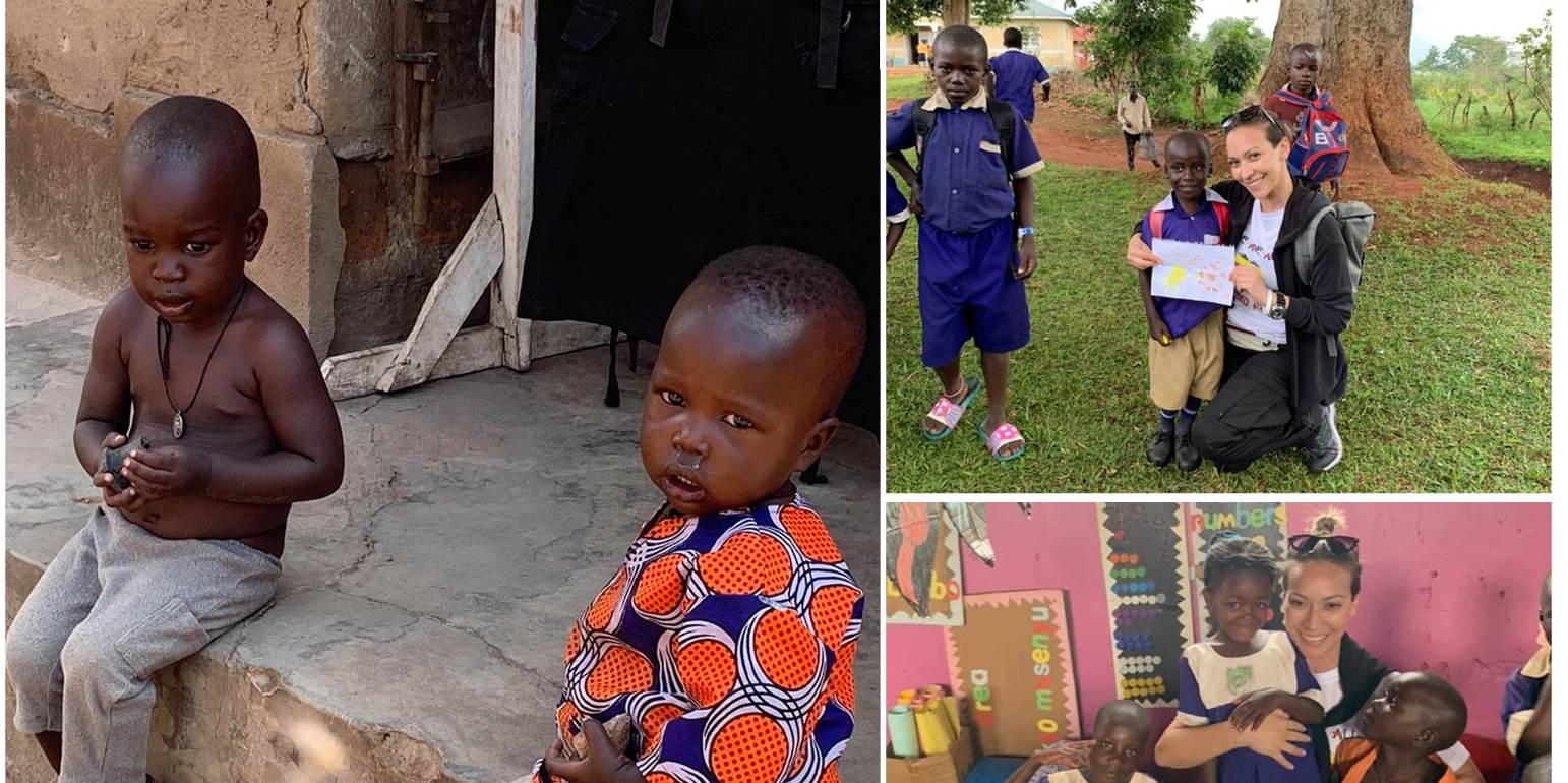 Συγκλονίζουν οι περιγραφές της δικής μας Ανδριανής από την μακρινή Ουγκάντα