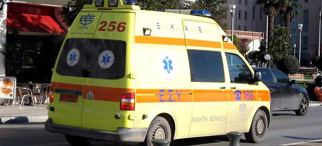 Τροχαίο με τραυματισμό για 25χρονο άντρα στην Αμμουδάρα