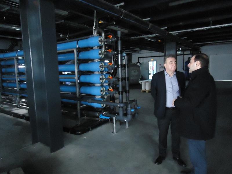 Στην πρωτοποριακή μονάδας παραγωγής «πράσινης ενέργειας» από βιοαέριο ο Περιφερειάρχης Κρήτης (pics)