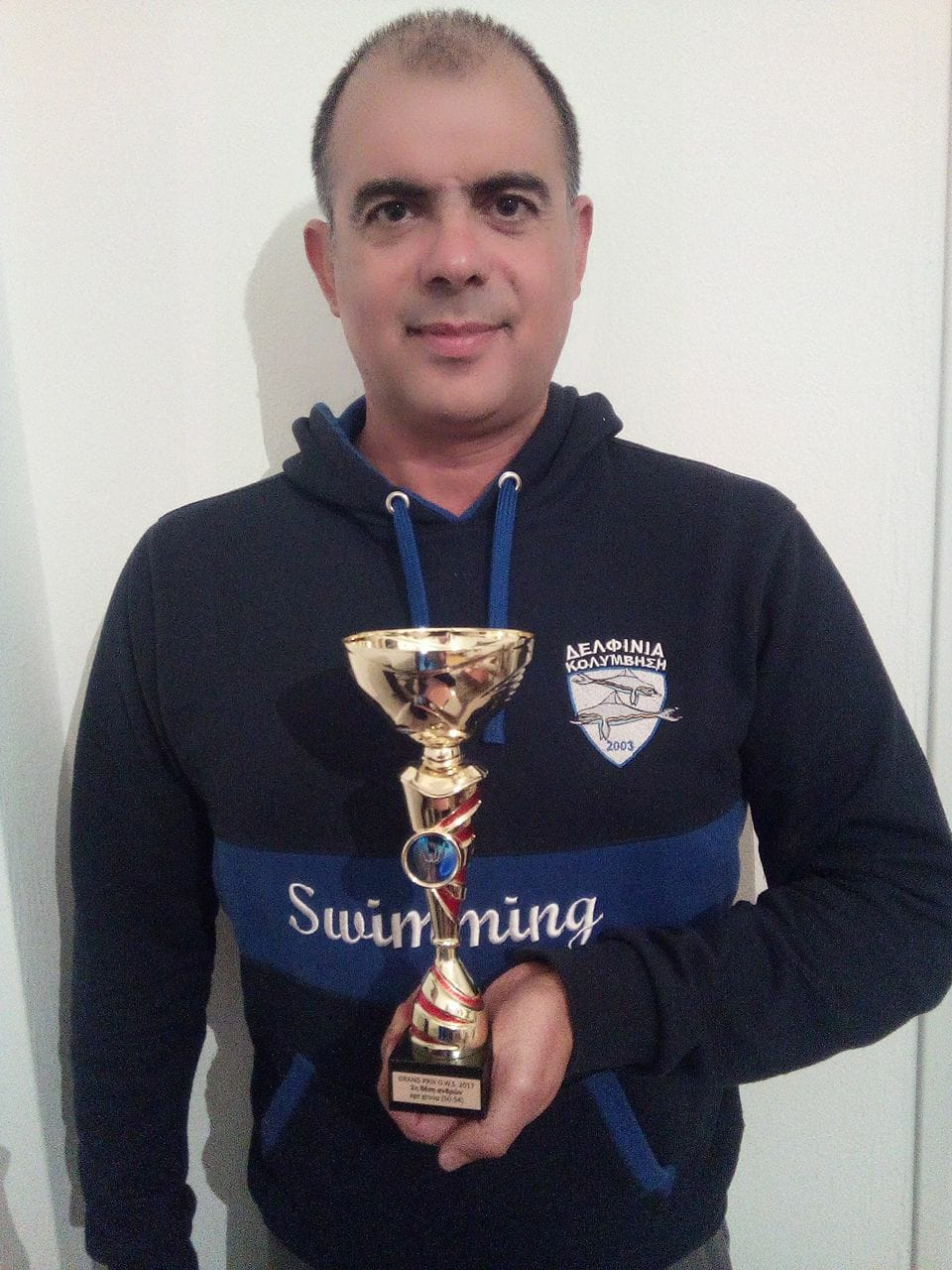 Βραβεύτηκε ο Μιχάλης Αρβανιτάκης στο Πανελλήνιο Πρωτάθλημα Σειράς Αγώνων Κολύμβησης OWS 2017