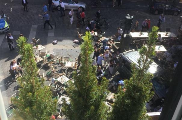 Γερμανία: Αυτοκίνητο έπεσε πάνω σε πλήθος - Νεκροί και τραυματίες