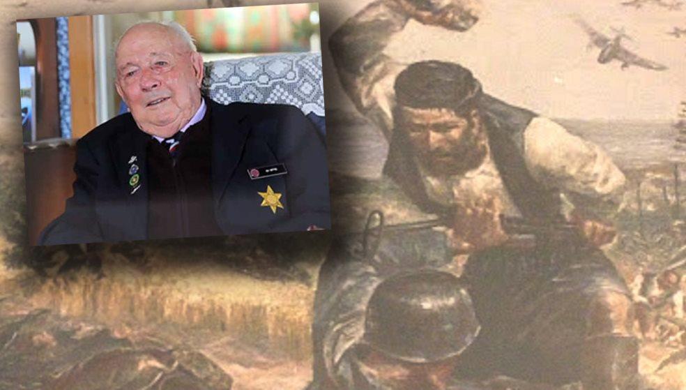 Πέθανε ο 100χρονος Νεοζηλανδός ήρωας από τη Μάχη της Κρήτης