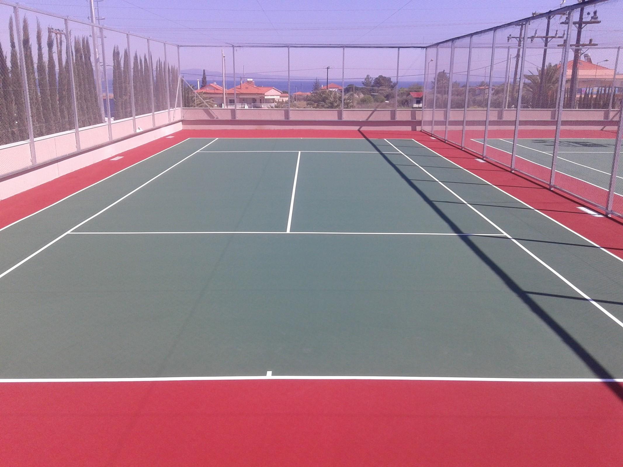 Στην υπηρεσία των πολιτών τα γήπεδα τένις