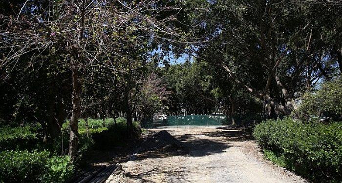 Προχωρούν οι εργασίες στο Πάρκο Γεωργιάδη