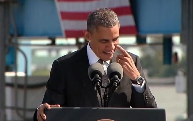 Ο Ομπάμα αποχαιρετά τους Αμερικανούς από το Σικάγο