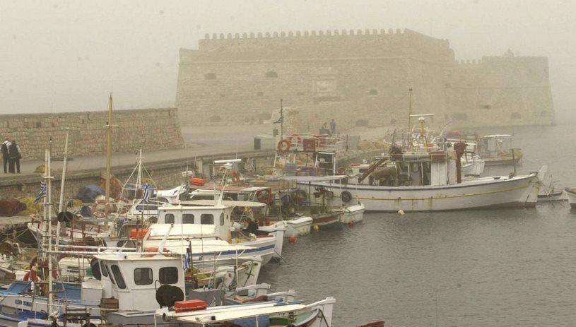 Αφρικανική σκόνη και βροχές - Ο καιρός στην Κρήτη
