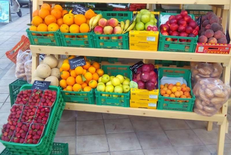 Μανάβικο στο Ηράκλειο προσφέρει δωρεάν φρούτα και λαχανικα σε άπορους! (PICS)
