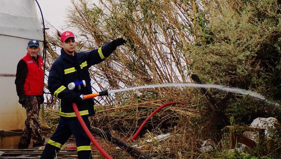 6 στρέμματα έγιναν στάχτη από τις 2 φωτιές στην Κρήτη