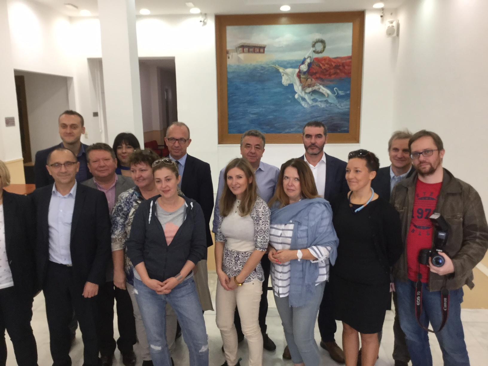 Πολωνοί εισαγωγείς τροφίμων στην Περιφέρεια Κρήτης και με b2b συναντήσεις στα Επιμελητήρια Ηρακλείου και Ρεθύμνου