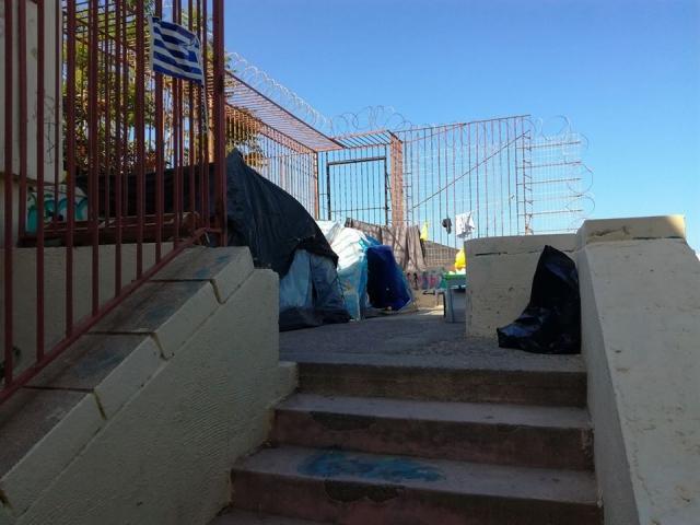 Ηράκλειο: Ελπίδα για άστεγους που έχουν βρει καταφύγια στα Νεώρια