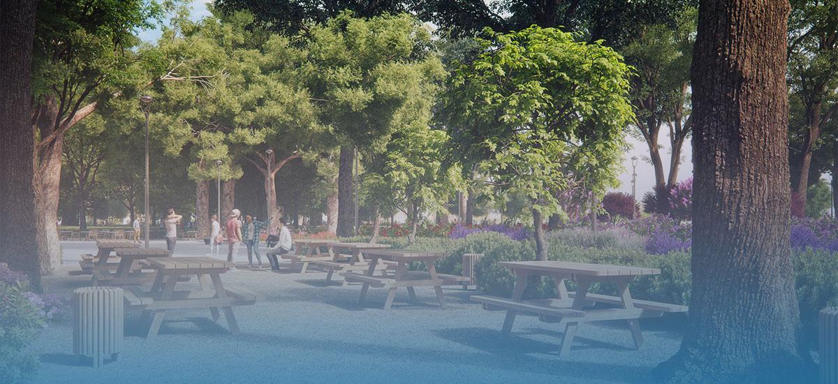 Ξεκινούν σήμερα οι εργασίες στο πάρκο Γεωργιάδη