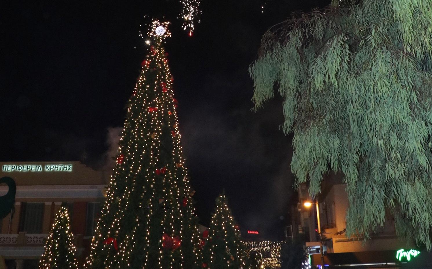 Οι εορταστικές εκδηλώσεις στο Ηράκλειο