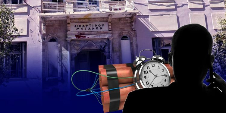 Φάρσα το τηλεφώνημα για βόμβα στα δικαστήρια Ηρακλείου