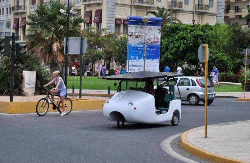 «Γεννήθηκε» στο Ηράκλειο το πρώτο ηλιακό όχημα! (pics)