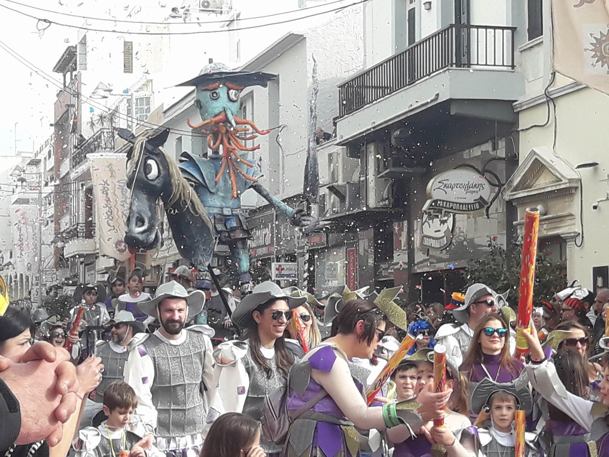 Ρεθυμνιώτικο Καρναβάλι 2018 – Μεγαλειώδης Παρέλαση (Photos -Video)