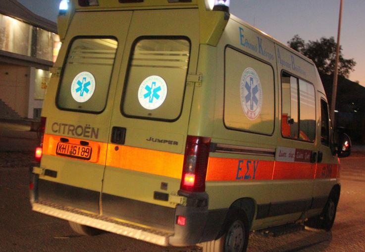 Τρεις τραυματίες σε δύο τροχαία ατυχήματα στην παραλιακή του Ηρακλείου μέσα σε λίγες ώρες