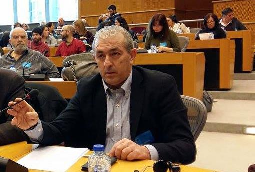 Ο Σωκράτης Βαρδάκης χαιρετίζει το 1ο Παγκρήτιο Συνέδριο Αξιωματικών Αστυνομίας