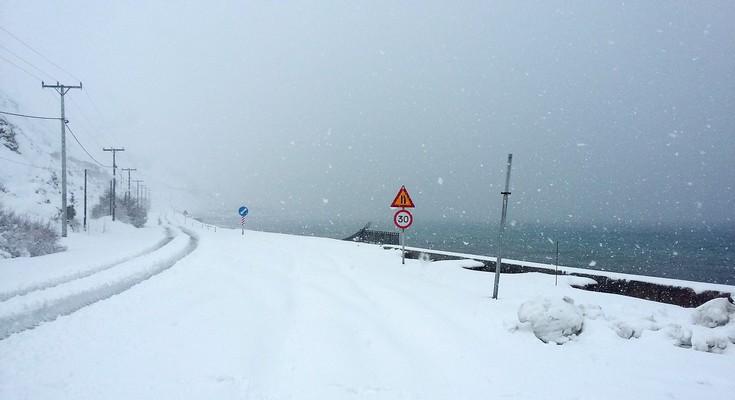 «Βουνό» τα προβλήματα από το χιόνι στην Εύβοια
