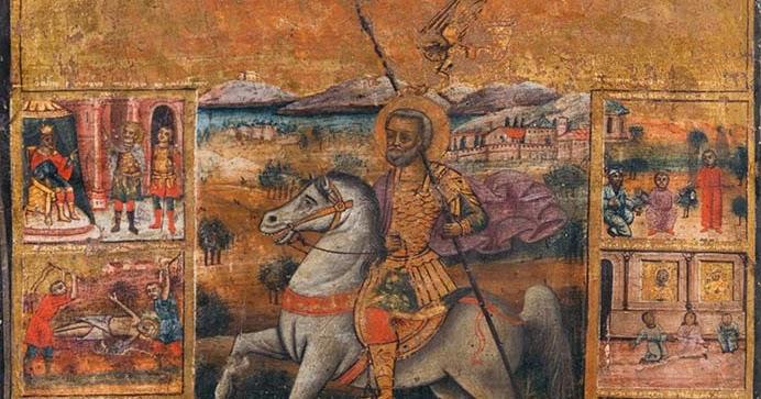 Άγνωστη εικόνα του Αγίου Μηνά έρχεται στο Ηράκλειο - Μυστήριο 300 ετών