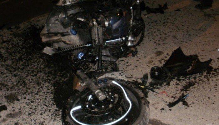 Σοβαρός τραυματισμός οδηγού μοτοσικλέτας σε τροχαίο στο Ηράκλειο
