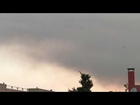 Μεγάλη φωτιά στην Εύβοια: Καίγεται δάσος - Εκκενώθηκε μοναστήρι