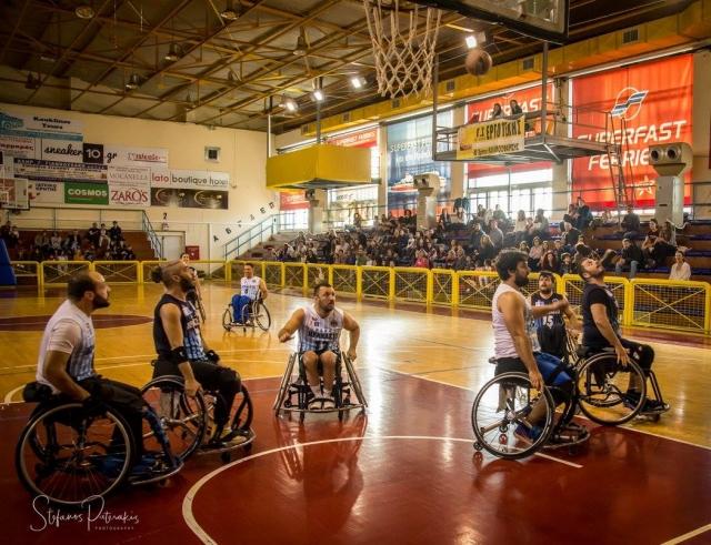 Ηράκλειο: Θα παίξουν μπάσκετ με τα αμαξίδια τους