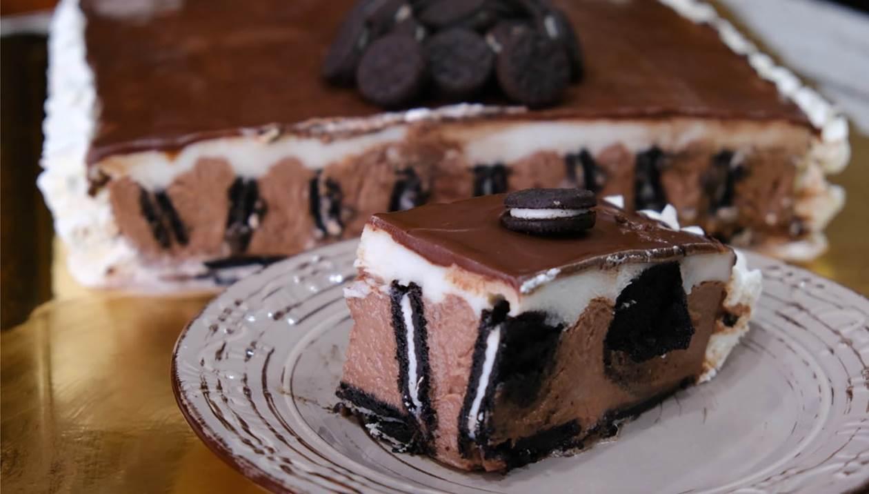 Πεντανόστιμη και δροσερή τούρτα Οreo