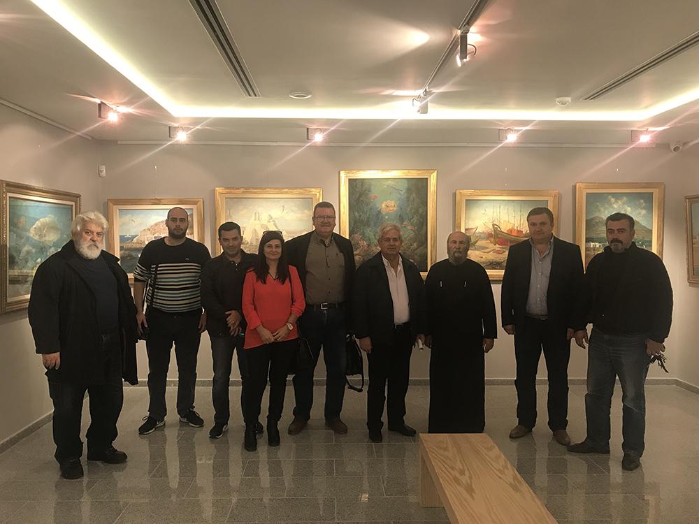 Την Κυριακή τα εγκαίνια της Δημοτικής Πινακοθήκης Μαλεβιζίου «Μπότης Θαλασσινός»