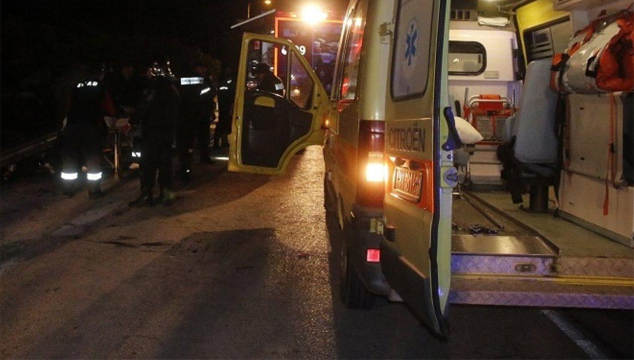 Ανατροπή οχήματος στην οδό Πανεπιστημίου με τραυματία