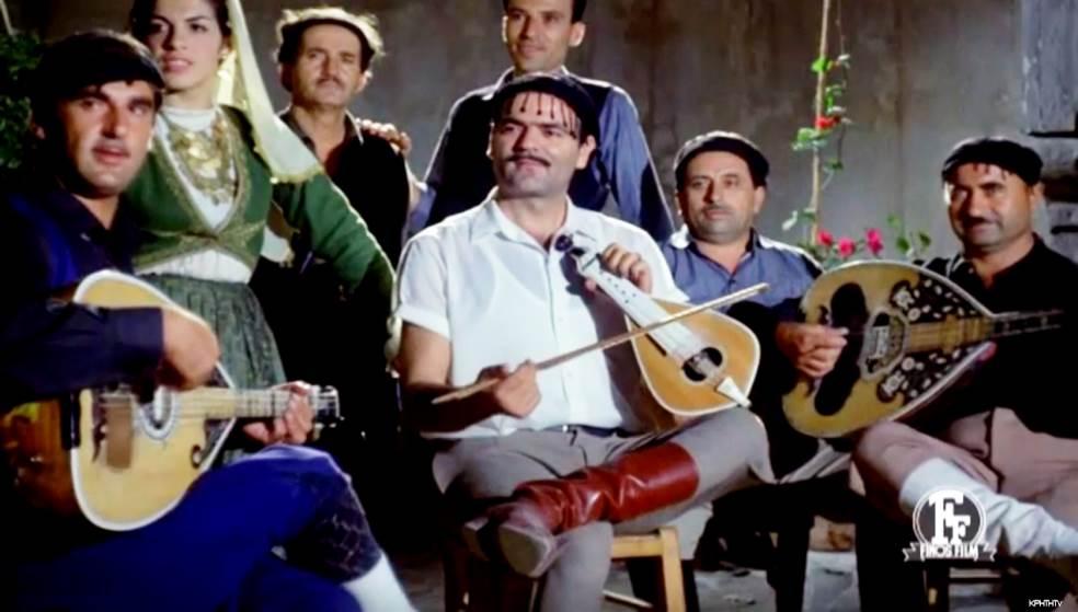 Σπύρος Σηφογιωργάκης: Το παράπονο του λυράρη από την ταινία «Η νεράιδα και το παλικάρι»